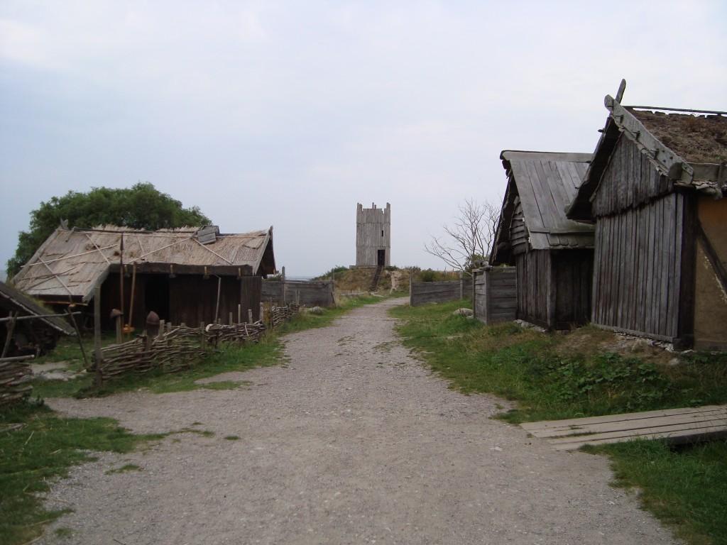 "The ""main street"" at Foteviken"