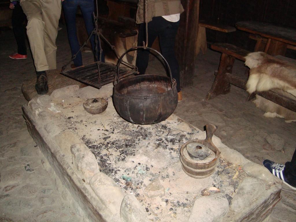 Viking-style kitchen