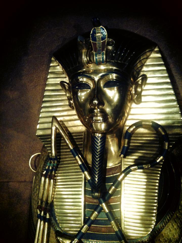 Tutankhamun's sarkophagus