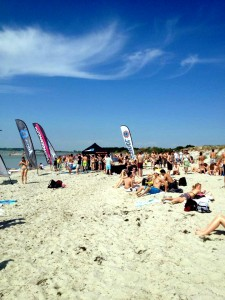Windfest at beautiful Lomma beach