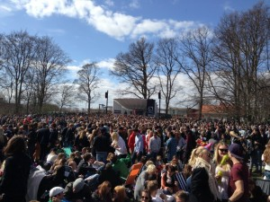This is Valborg in Lund!