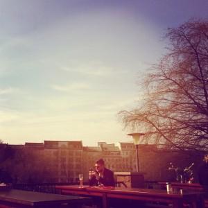Saturday tea time (out!!) at Prenzlauerberg