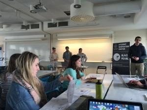 Student Innovation Center at Lund University (Black Pearl). Lund