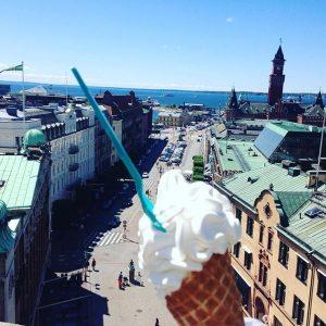 Helsingborg ice cream view